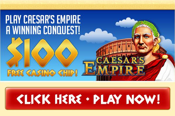 Vegas Strip - $100 Free Chip / Caesar's Empire